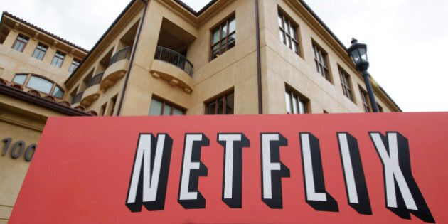 The exterior of Netflix headquarters is seen in Los Gatos, Calif., Monday, Oct. 10, 2011. On Monday,...