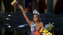 Miss Colombia commenta con classe. Giallo sul presentatore: era
