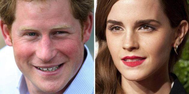 Emma Watson e il principe Harry insieme? Su Twitter: