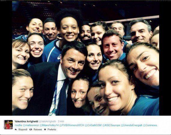 Selfie. Dalle modelle di D&G al politico dell'era