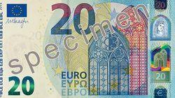 Draghi presenta la nuova banconota da 20