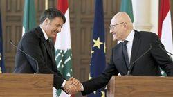 Renzi sceglie il Libano per pungolare l'Ue: