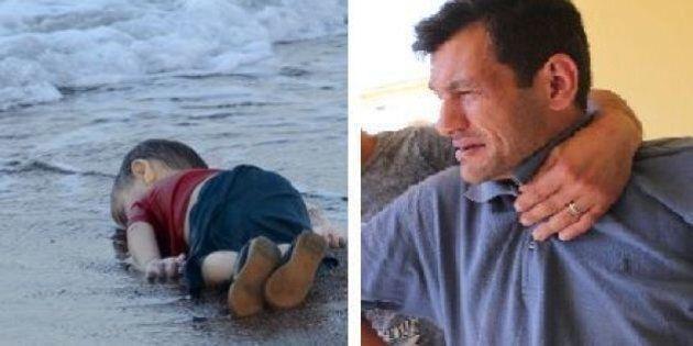 La vita difficile del padre di Alan Kurdi: