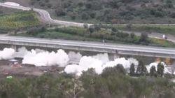 250 kg di esplosivo per far saltare il viadotto Himera