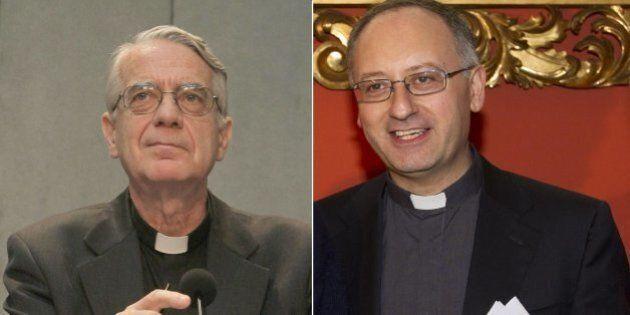 Padre Lombardi e Padre Spadaro, il portavoce e lo spin doctor di Papa
