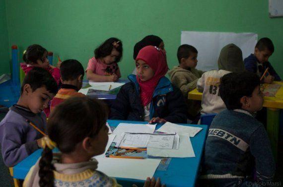 I bambini siriani tornano a scuola, a