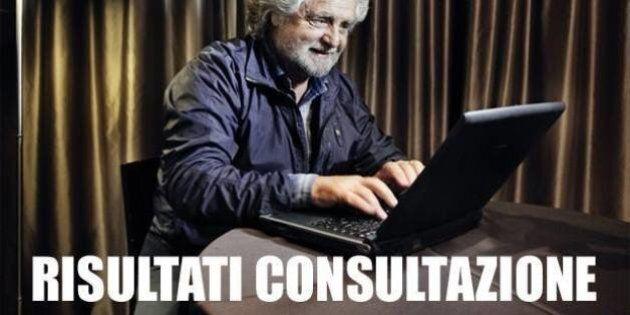 Espulsioni di Beppe Grillo, Samuele Segoni: