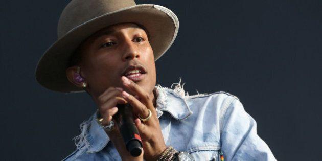 Pharrell Williams, cantante di