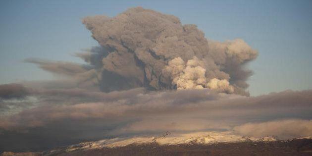 Vulcano Bardarbunga in Islanda: allarme rosso per rischio eruzione. Bloccato il traffico aereo sopra...