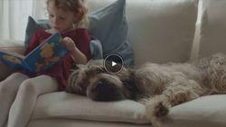 La storia di amicizia tra un cane e una bambina dimostra che nulla vale la gioia di tuo