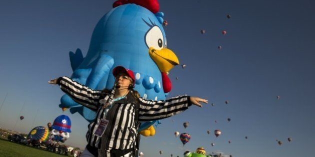 Mongolfiere, lo spettacolo dell' Albuquerque International Balloon Fiesta in New