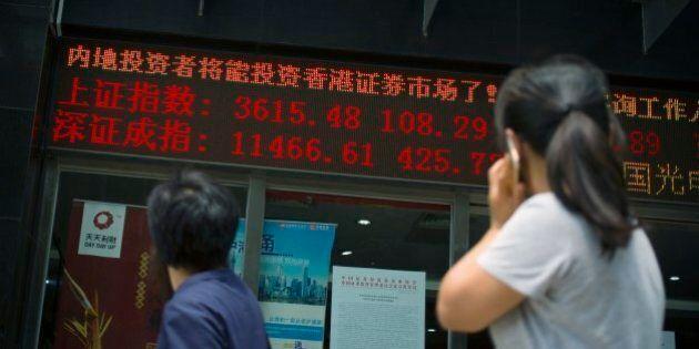 Cina, Borsa Shanghai e Shenzen chiudono in forte crescita grazie all'intervento di Pechino, ma la tensione