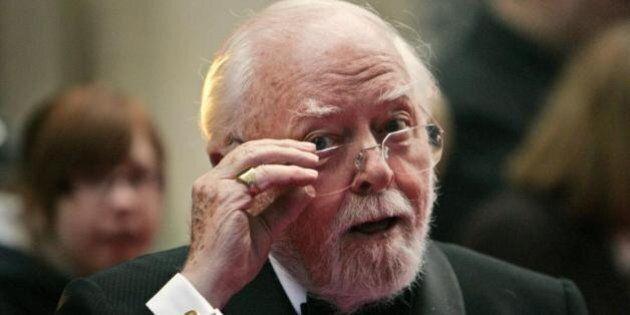 Richard Attenborough morto, il regista premio Oscar per