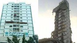 Bombe israeliane sui grattacieli di Gaza: distrutto l'Italian