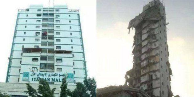 Gaza, l'aviazione colpisce due grattacieli. Bombardato l'Italian