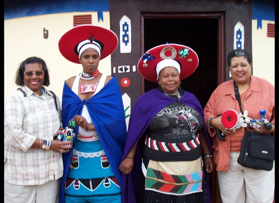 Loved meeting these ladies -- again, a South African inspiration!    (Photo Courtesy: Grannies on Safari)