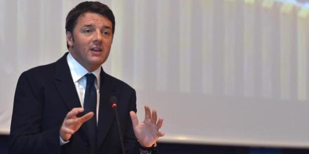 Matteo Renzi ospite di Lucia Annunziata a