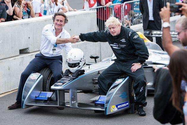 2015년 런던에서 열린 전기차 경주 대회.