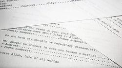 Lettere d'amore e domande d'ammissione per terroristi tra i documenti di Bin