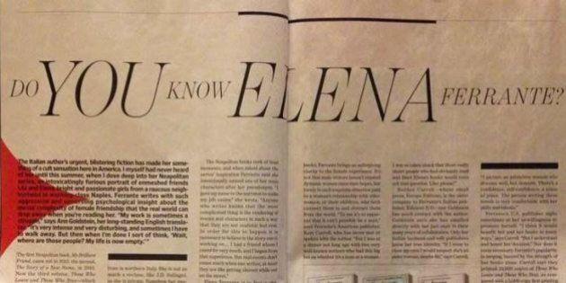 Elena Ferrante e il mistero delle lettere ai giornali. L'editore smentisce l'autenticità, sembra un dramma...