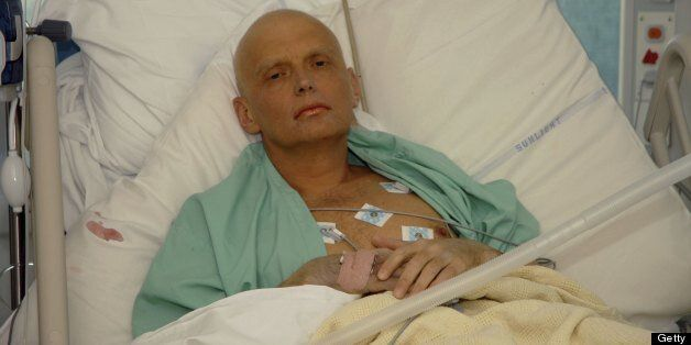 LONDON - NOVEMBER 20: In this image made available on November 25, 2006, Alexander Litvinenko is pictured at the Intensive Ca