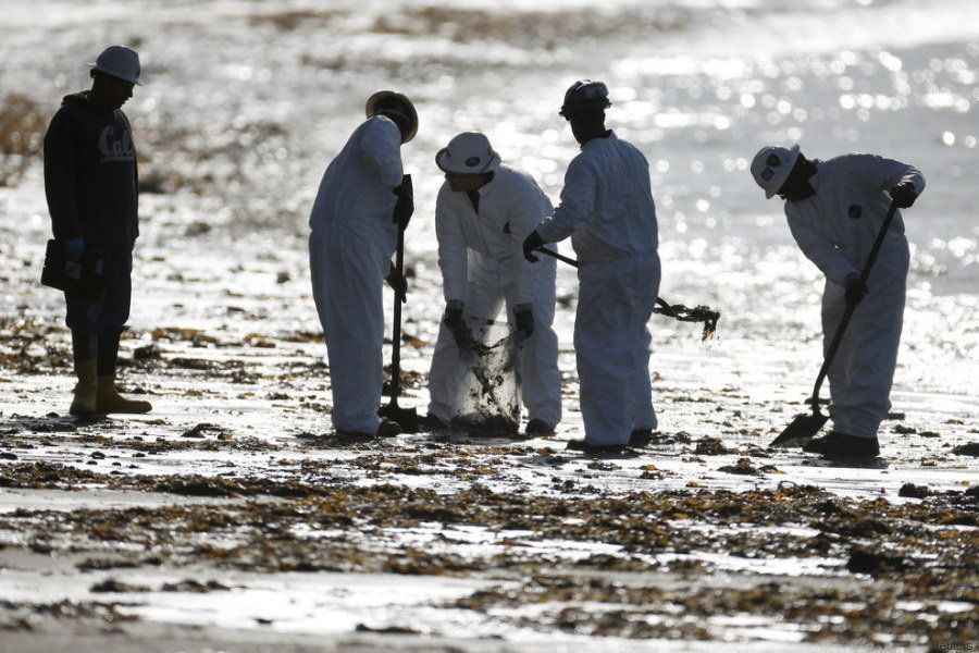 Disastro ambientale a Santa Barbara: 80mila litri di greggio riversati nell'Oceano Pacifico. La tragedia...