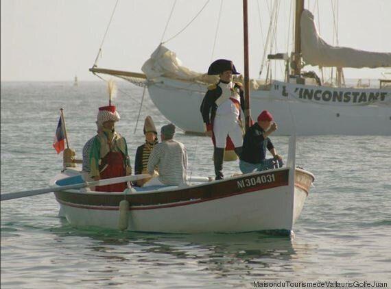 In costa azzurra si celebrano 2 secoli dall'arrivo di Napoleone con un tour a tema e inviti al
