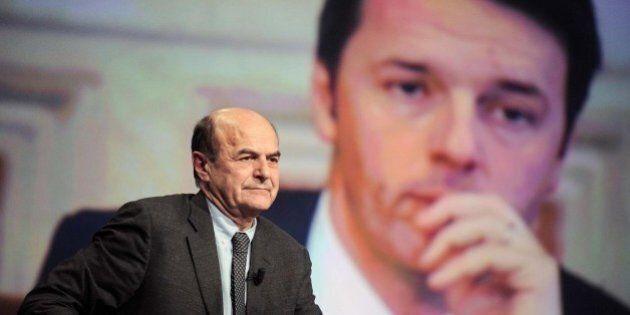 Pier Luigi Bersani strappa con Matteo Renzi: