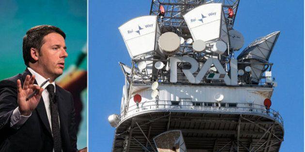 Renzi e l'Opa su Rai Way: un'occasione da non