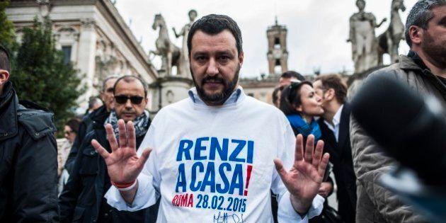 Sondaggio Ixé per Agorà, Matteo Salvini supera il 14% alla vigilia della marcia anti-Renzi. Cresce ancora...