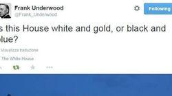 La Casa Bianca è bianca e oro o nera e blu?