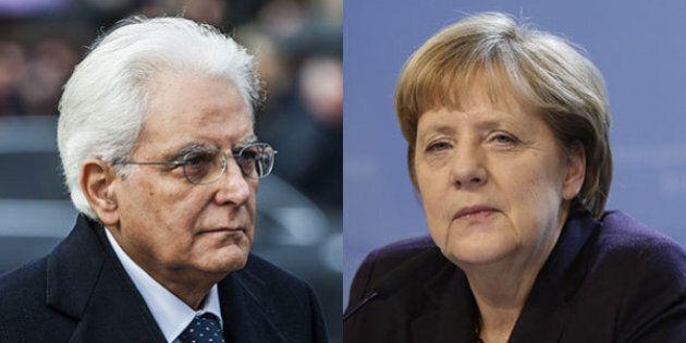 Sergio Mattarella in Germania dalla Merkel poi a Bruxelles: primo viaggio all'estero del