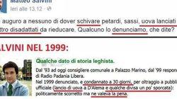 Quando Matteo Salvini lanciava le uova a Massimo D'Alema. Nel 1999 fu denunciato per oltraggio a pubblico