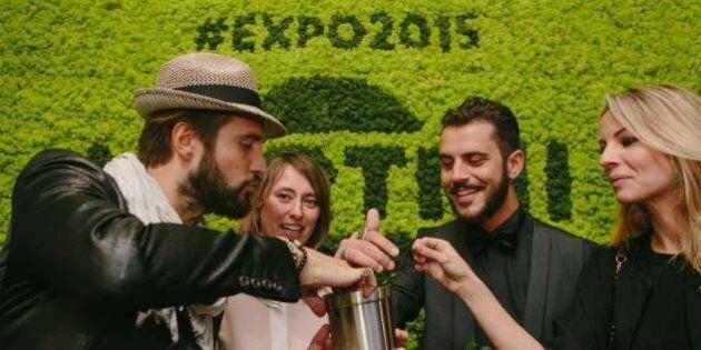 Expo Party Time: l'apertura della Terrazza Martini per una serata piena di vip