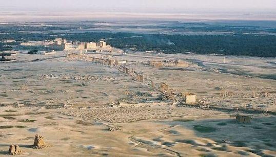 Palmira: i luoghi più belli della 'Sposa del