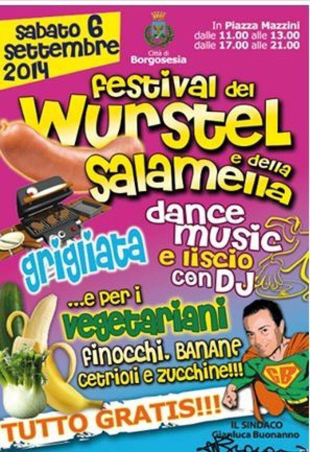 La sagra omofoba organizzata dal leghista Gianluca Buonanno a Borgosesia: