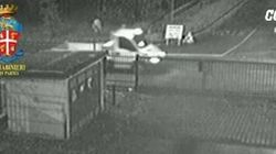 Ecco il video del furgone di Bossetti davanti alla