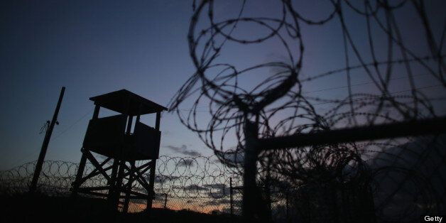 GUANTANAMO BAY, CUBA - JUNE 27:  (EDITORS NOTE: Image has been reviewed by the U.S. Military prior to transmission.) A watch