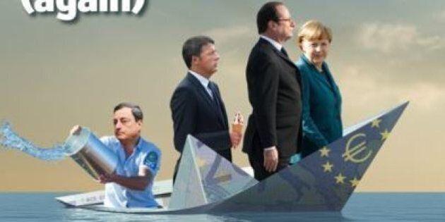Economist, in copertina Renzi con il gelato in mano sulla barca