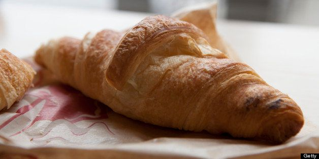 Croissant, Butter Croissant, French Croissant, France, French Riviera, Provence, Mediterranean, French Food, Food, Food And D