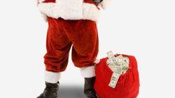 Se anche Babbo Natale va in crisi davanti