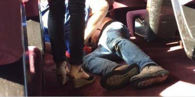 Francia, uomo in treno con kalashnikov ferisce 3 persone. Fermato dai marines prima della strage