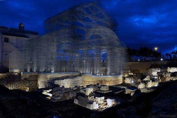 Perché va rimossa l'installazione artistica nell'area archeologica di