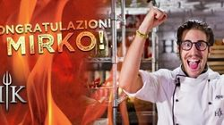Hell's Kitchen, trionfa Mirko in una finale