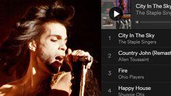 La playlist di Prince per una festa
