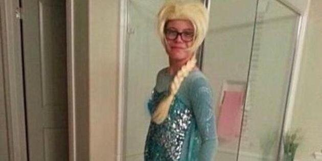 Austin Lacey, 13 anni, si veste da Elsa di