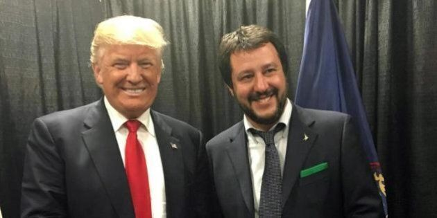 Matteo Salvini incontra Donald Trump: