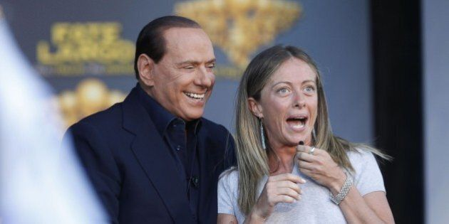 Silvio Berlusconi a Giorgia Meloni: