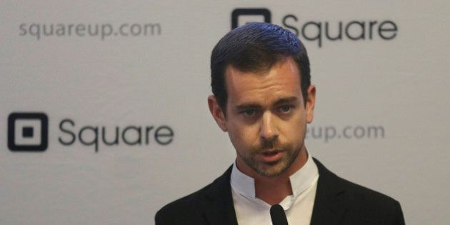 Square CEO Jack Dorsey speaks at a news conference in San Francisco, Friday, June 14, 2013. New York...
