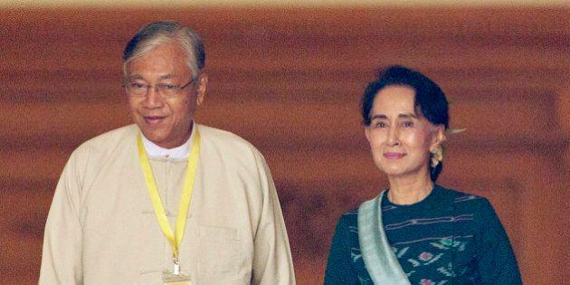 Birmania, Htin Kyaw è il nuovo presidente. Amico di sempre ed ex autista di Aung San Suu Kyi, governerà...